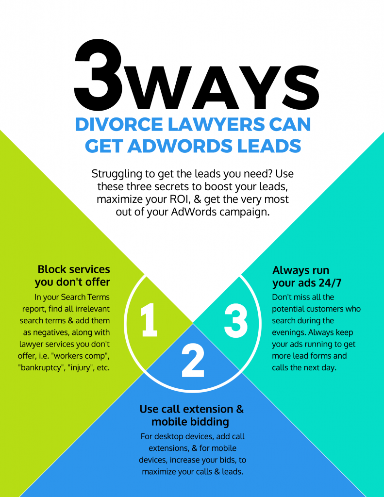 divorce lawyer leads