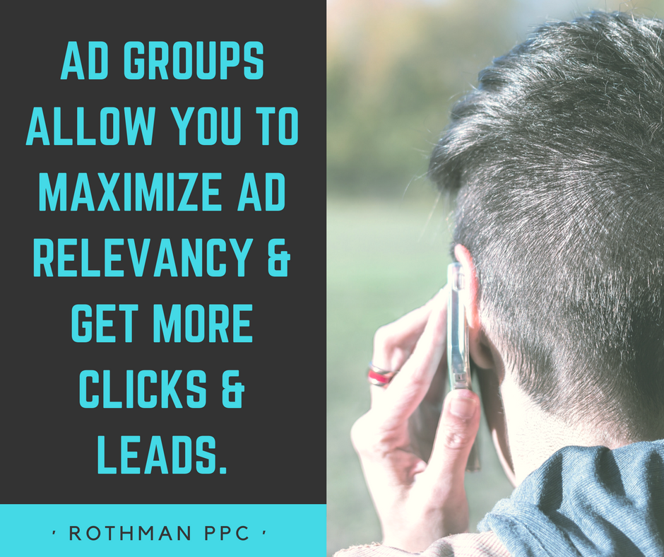 How To Think About Ad Groups In Google AdWords