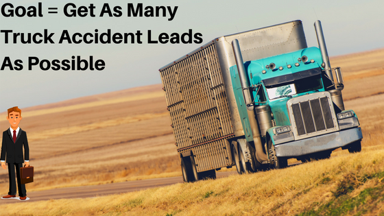 truck accident leads