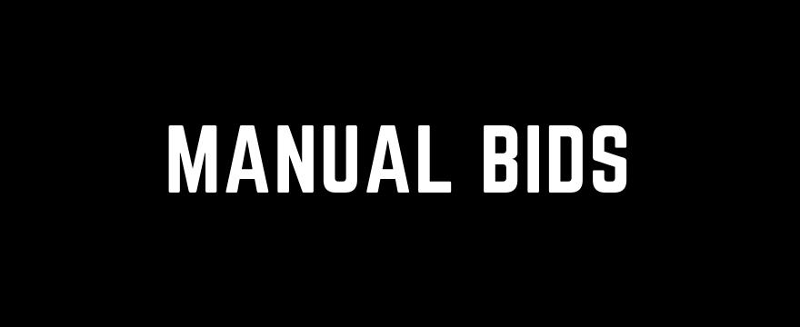 manual bids google ads